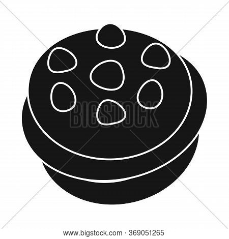 Vector Design Of Cupcake And Birthday Icon. Collection Of Cupcake And Chocolate Stock Symbol For Web