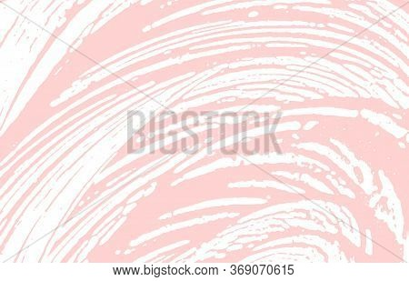 Grunge Texture. Distress Pink Rough Trace. Graceful Background. Noise Dirty Grunge Texture. Gorgeous