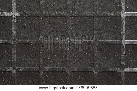 Seamless Tileable Grunge Gray Square Marble Stone Background
