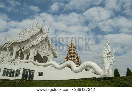 Thailand Chiang Rai Wat Huay Pla Kang