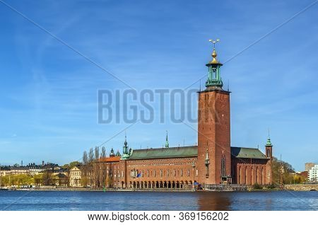 Stockholm City Hall Is The Building Of The Municipal Council For The City Of Stockholm In Sweden. It