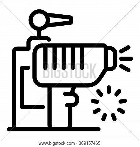 Laser Hair Removal Dispenser Cream Icon. Outline Laser Hair Removal Dispenser Cream Vector Icon For