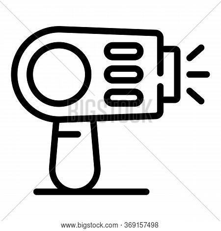 Clean Laser Hair Removal Icon. Outline Clean Laser Hair Removal Vector Icon For Web Design Isolated