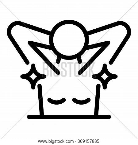 Clean Armpits Icon. Outline Clean Armpits Vector Icon For Web Design Isolated On White Background