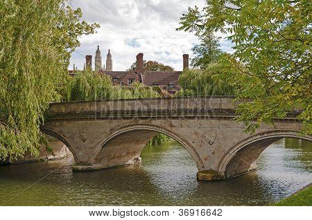 Stone bridge over Cam river