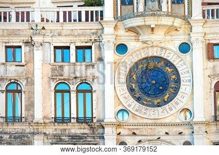 Clock On St Mark's Clocktower