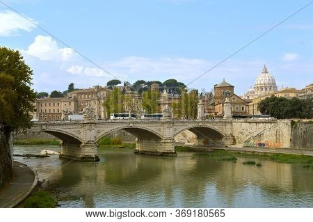 Rome, Italy - September 15, 2016 : The Vatican Is The Smallest Sovereign State In The World By Both