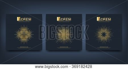 Modern Vector Template For Brochure, Leaflet, Flyer, Advert, Cover, Magazine Or Annual Report. Islam