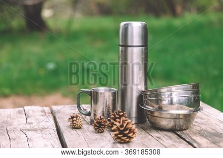 Time For Adventures - Set Of Expedition Camping Equipment
