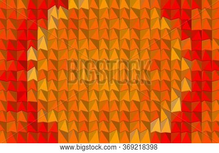 Art Orange Color Of Abstract Pattern Background