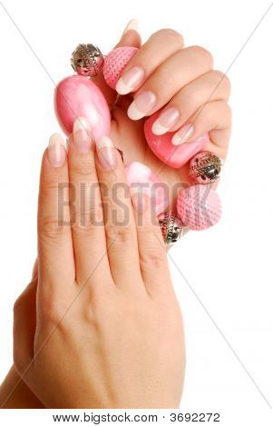 Luxury Woman Fingers And Nails