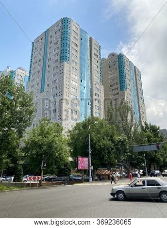 Almaty, Kazakhstan - June 1, 2020: