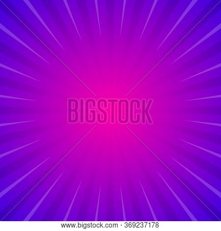 Sun With Rays Star Burst Television Vintage Background