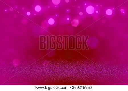 Fantastic Shiny Abstract Background Glitter Lights Defocused Bokeh - Festal Mockup Texture With Blan