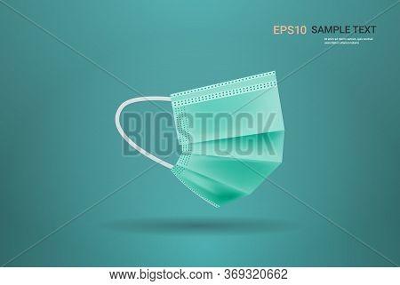 Antiviral Medical Respiratory Face Mask Protection Against Coronavirus Prevention Of Virus Spreading