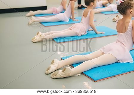 Perm/russia. - October, 22, 2019: Childrens Ballet, Choreography Classes, Dance Lessons For Children