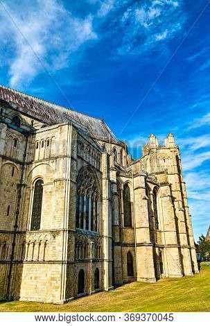 Canterbury Cathedral, Unesco World Heritage In Kent, England
