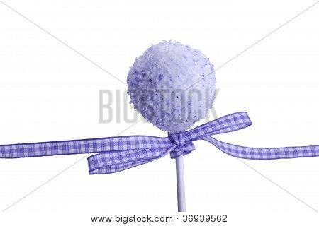sweet purple cocunut cakepop
