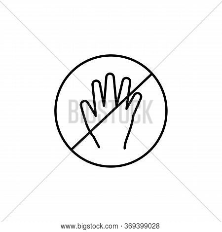 Sexual Abuse Line Icon. Signs And Symbols Can Be Used For Web, Logo, Mobile App, Ui, Ux