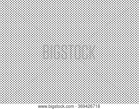 Black And White Halftone Pattern. Modern Texture. Geometric Background. Vector Illustration