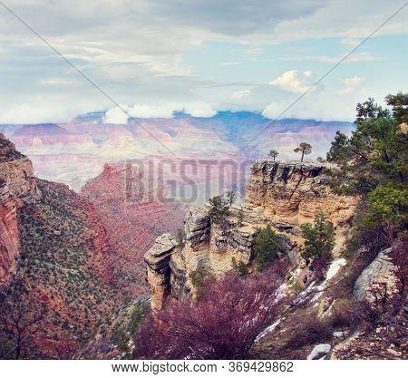 Grand Canyon National Park, South Rim ,Arizona, USA.