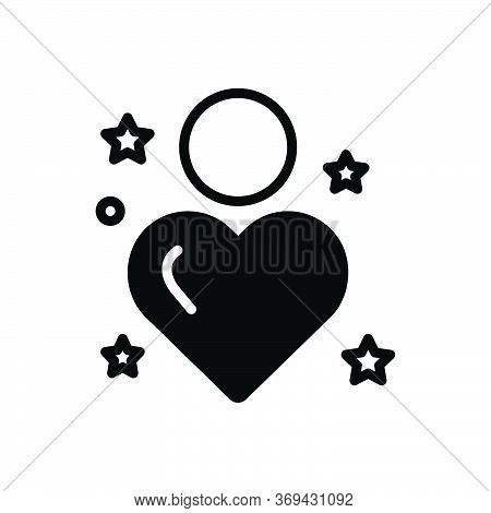 Black Solid Icon For Sincerity Reality Tangibility Entity Outness