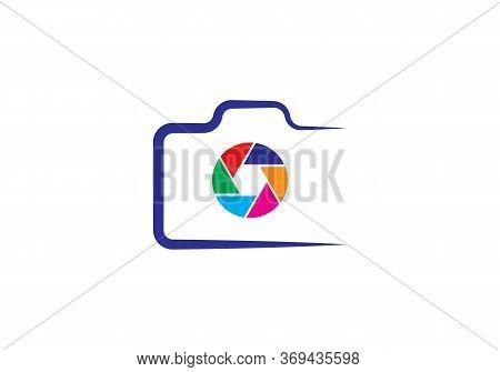 Camera Icon. Camera Symbol. Flat Photo Camera Vector Isolated. Modern Simple Snapshot Photography Si