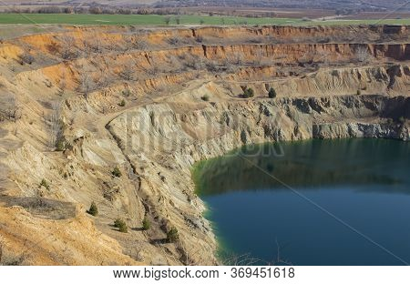 A Closer Look At The Toxic Waters Of An Abandoned Non-ferrous Metal Quarry. Tsar Assen, Bulgaria.