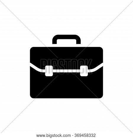 Brief Case - Bag Icon Vector Design Template