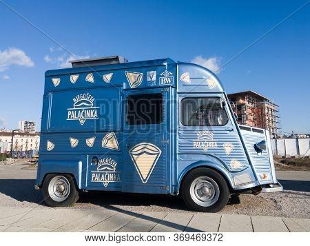 Belgrade / Serbia - February 6, 2020: The Citroën H Van, Type H, H-type Or Hy Is A Panel Van (light