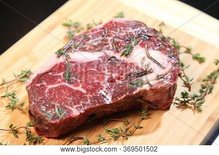 Raw Fresh Meat Steak. Meat For Steak. Beef Steak. Raw Meat.