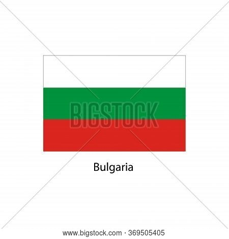 Bulgaria Flag. Official Colors And Proportion Correctly. National Flag Of Bulgaria. Bulgaria Flag Ve