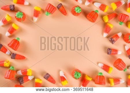 Candy Corn Sweets Layout