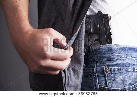 Revealing Firearm
