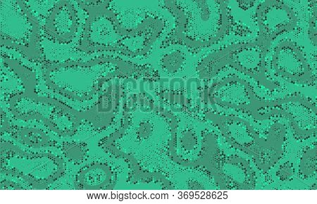 Survival Repeated Curvy Vector Wrapping. Seamless Vintage Invisible Seamless Modern Graphic Texture.