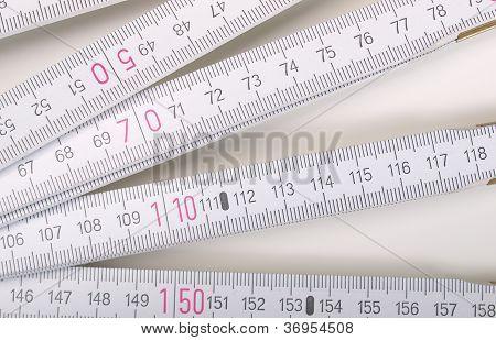 Carpenter ruler