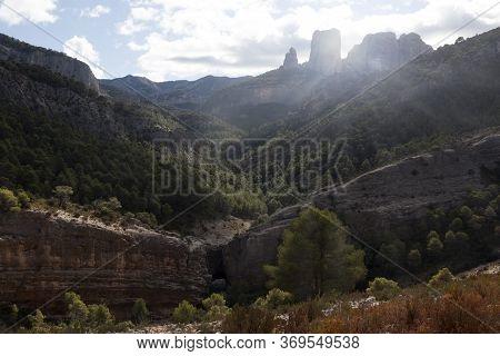 Los Ports Mountains Natural Park. Tarragona Province