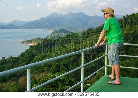 Koh Chang, Thailand - August, 2016: Point View At Koh Chang, Thailand