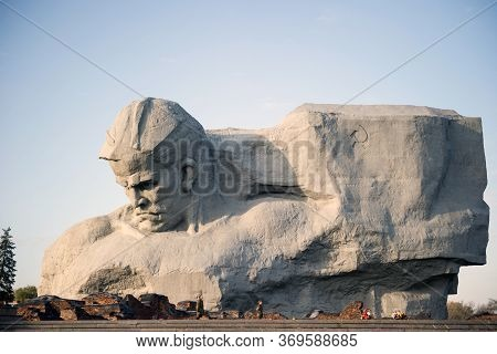 Brest, Belarus-05.11.2019: Monument To Courage In The Brest Fortress, Brest, Belarus. The Monument I