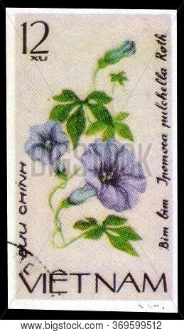 Saint Petersburg, Russia - May 31, 2020: Postage Stamp Issued In The Vietnam With The Image Of The I