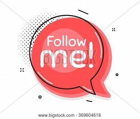 Follow Me Symbol. Thought Chat Bubble. Special Offer Sign. Super Offer. Speech Bubble With Lines. Fo
