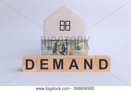 Conceptual Image Of The Requirement Of Performance Under The Contract, Payment Of Money. Wooden Cube