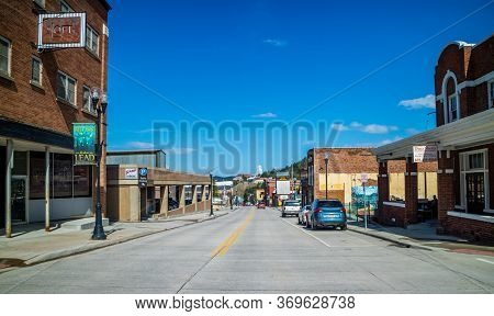 Rapid City, Sd, Usa - May 25, 2019: The Gateway To The Black Hills City