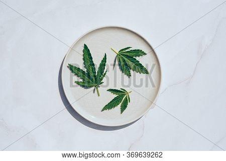 Medical Marijuana Cannabis Cbd Oil. Cbd Oil Hemp Products. Macro Detail Of Dropper With Cbd Oil, Can