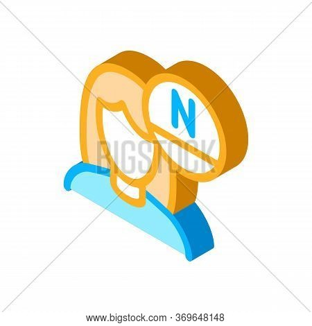 Woman Rejuvenate Vitamin Icon Vector. Isometric Woman Rejuvenate Vitamin Sign. Color Isolated Symbol