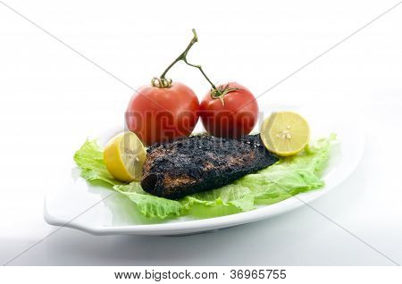 Grilled Tilapia With Salad