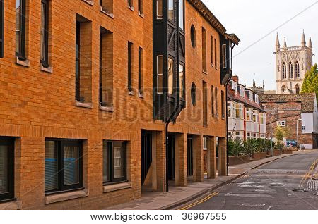 Street in Cambridge UK