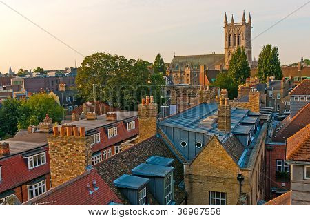 Cambridge city and cathedral