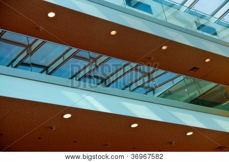 Upper interior floors