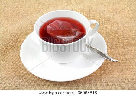 Tea Bag Brewing Cup Saucer